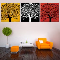 4 Piece Set High Definition Canvas Prints Wall Decor Pictures For Living Room Decorative Spray Painting
