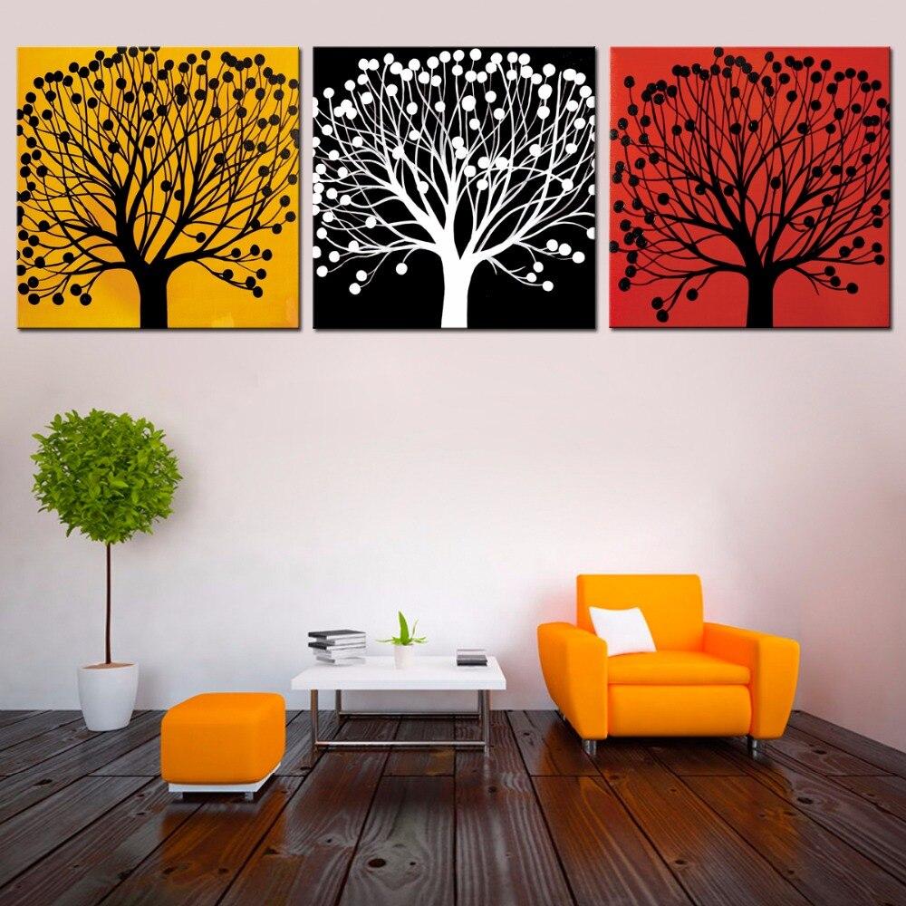 3 Pieces Set High Definition Canvas Prints Wall Decor