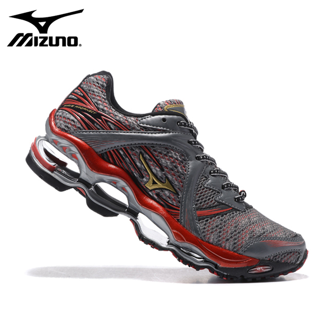 sports shoes 97a1e ac3bc Hot Mizuno Wave Prophecy 1 Men Shoes Red Sports Running Shoes Weightlifting  Shoes 5 Colors Best Sale Free Shipping Size 40-45