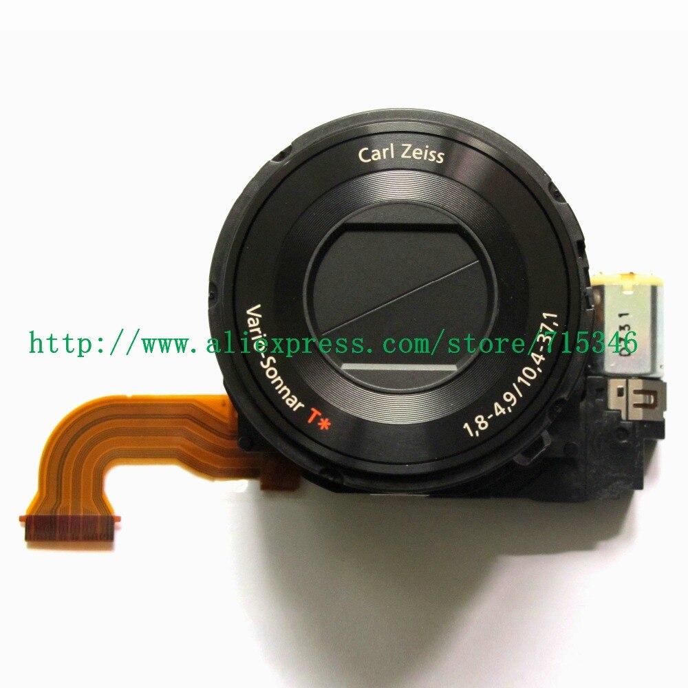 100% nouvelles pièces de réparation d'appareil photo numérique pour SONY cyber shot DSC RX100 DSC RX100II RX100 RX100II M2 objectif Zoom unité noir sans CCD-in Accessoires pour studio photo from Electronique    1