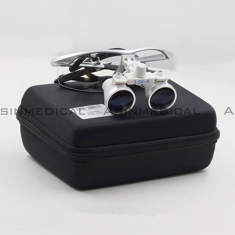 Good quality Anti-fog Dental Surgical Medical Binocular Loupes Glasses 3.5 x Magnifier 50pcs high quality dust fog haze oversized breathing valve loop tape anti dust face surgical masks