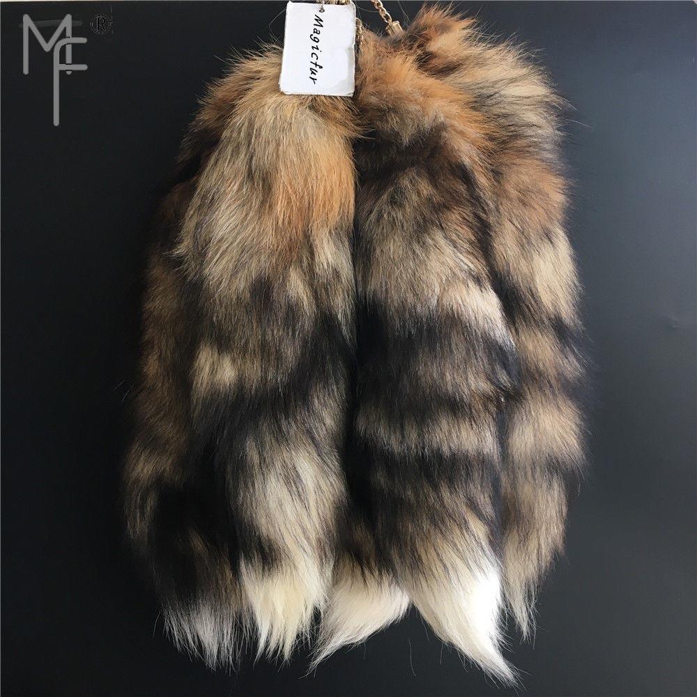 Brown Fox Fur Tail