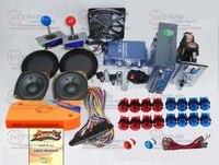 Аркады части Связки комплект с 960 в 1 мульти игры Pandora Box 5 длинные джойстик 12 В светодиодной подсветкой и пуговицы jamma монета Мех