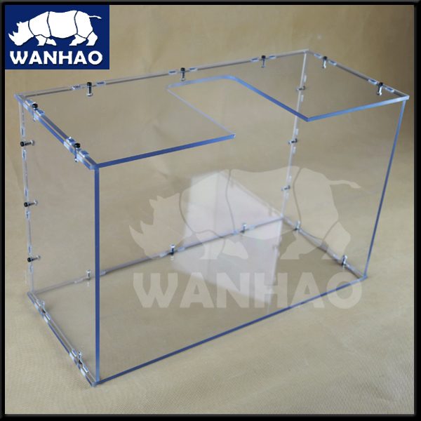 ФОТО WANHAO D6 insulate cover, Window, chamber, enclosure + screw pack(installing pack).  Including Full set bolts and nuts,  Handle