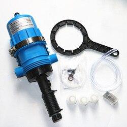 Fertilizer Injector Dispenser Proportioner 0.4%-4% 4C-30C ,water-driven chemical injector for fertilizer, livestock