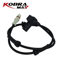 KobraMax Rear Left ABS Sensor 7700411745 for Renault Clio II Thalia Car Replacements Auto Accessories kobramax abs wheel speed sensor front left right for renault clio ii box symbol i 1 2 1 4 1 5 1 6 7700411747
