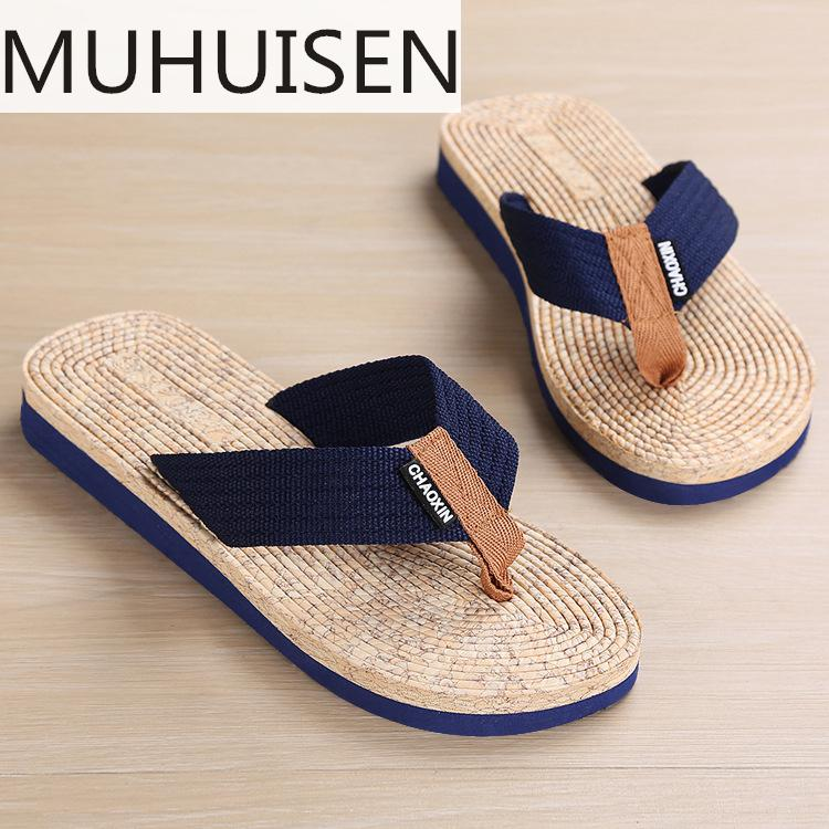 Casual Slippers Male Summer New Large Size Creative Casual Sandals And Slippers Non-slip Clip Toe Slippers Men slipper