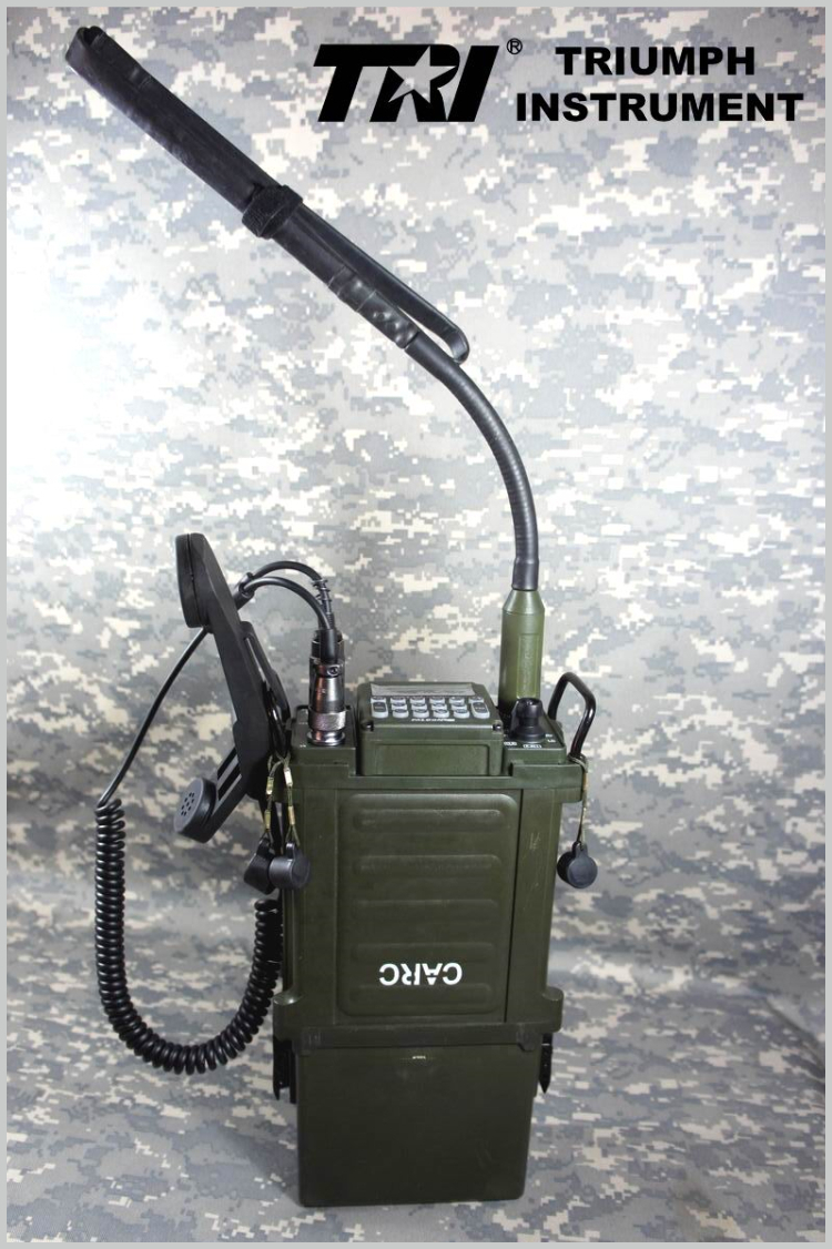 TRI PRC 117G military standard Dual Band Vehicle Radio backpack ...