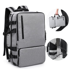 Business Backpack Men Multifunctional 17.3 Inch Laptop Backpack Bolsa Mochila Waterproof Luggage Travel Bags School Bags For Boy цена