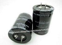 Free Shipping 2PCS Electrolytic Capacitor 100V 10000UF 10000UF 100V 35 50 Electrolytic Capacitors