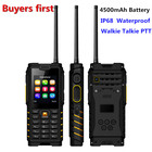 ioutdoor T2 UHF Antenna Walkie Talkie Rugged Mobile Phone IP68 Waterproof 4500mAh Unlocked Cell Phone can Add Russian keyboard
