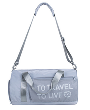 Large Capacity Ladies Travel Bags Sweet Women Fitness Bag Weekend Bag Casual Shoulder Duffle Totes Women's Designer D903