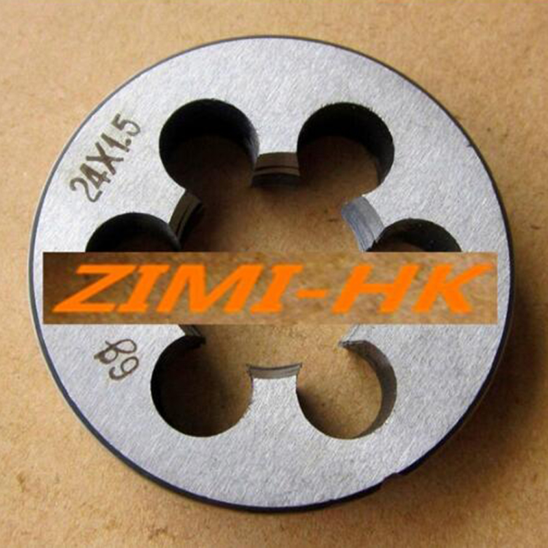 1pcs  24mm X 1.5 Metric Right Hand Die M24 X 1.5mm Pitch (superior Quality)