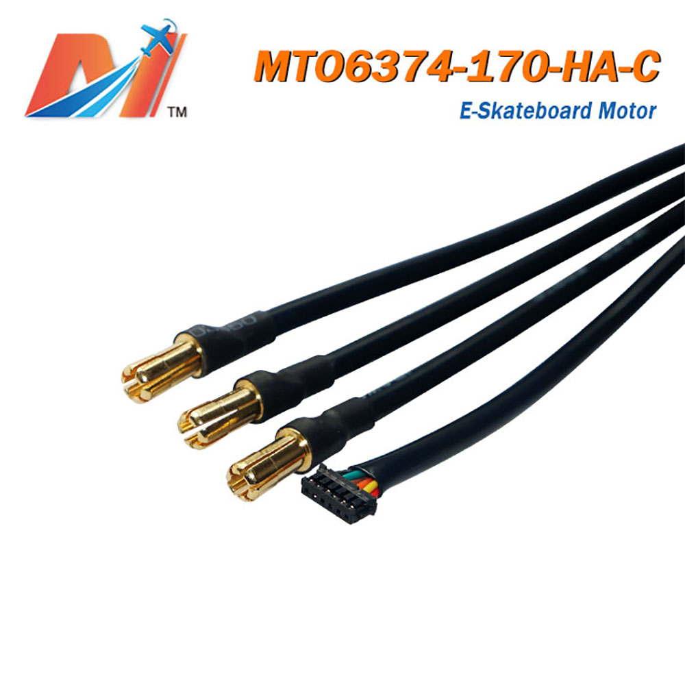 Maytech skateboard outrunner dc motor 6374 170KV with waterproof and dustproof function