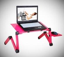 Soporte de mesa portátil ajustable para ordenador portátil, bandeja para sofá y cama SD5