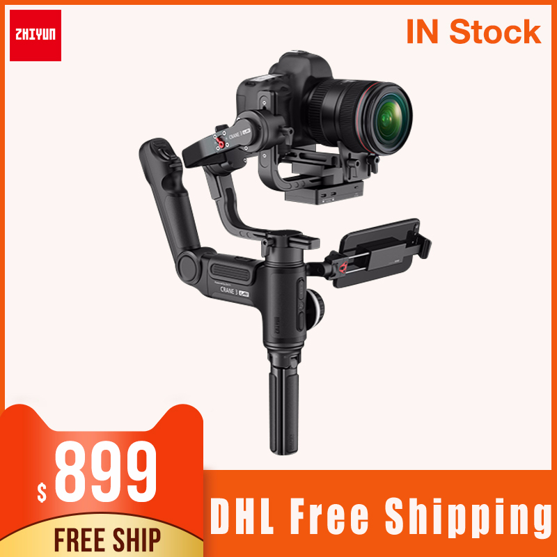 ZHIYUN Crane 3 LAB 3 Axis Wireless Camera Stabilizer ViaTouch Control Handheld Gimbal for DSLR vs