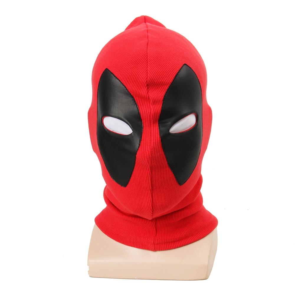 1pcs Deadpool Masks Superhero Balaclava Halloween Cosplay Costume X men Hats Headgear Party Neck Hood Full Face Mask