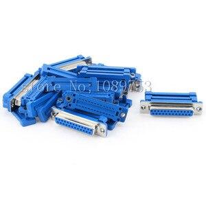 2 шт. DB25 25 контактный гнездовой параллельный IDC обжимной разъем для плоского ленточного кабеля