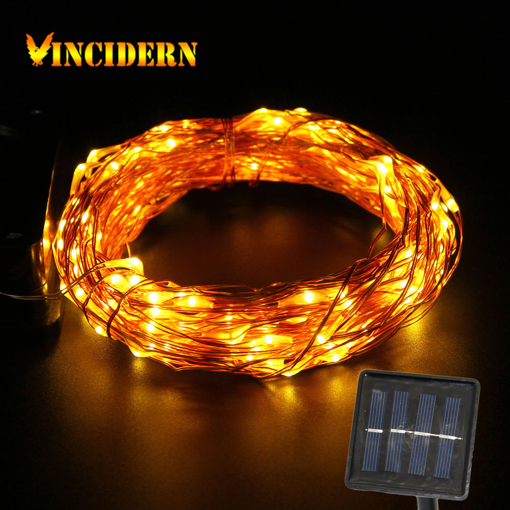 Outdoor String Lights Manufacturer : Aliexpress.com : Buy Solar copper wire String Light 50ft 150 LED outdoor waterproof Fairy Patio ...