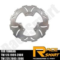 Motorcycle CNC Front Brake Disks Discs Stainless Steel Brake Rotor For YAMAHA TW 125 1999 2000 SEROW 225 2005 2006 TW 125 TW125