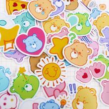 40 шт./упак. новая горячая распродажа Радуга Медведь заботливые мишки Декор наклейки Скрапбукинг ярлыком Дневник стикеры для альбомов классическая игрушка в подарок