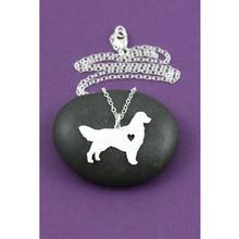 Dog / Golden Retriever Love Necklace