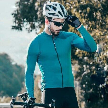 Santic Cycling-Jerseys Road-Bike Sun-Protective Long-Sleeve Spring Men Autumn C01100