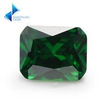 Размер 4*6 ~ 10*12 мм фотоэлемент 5a + зеленый цвет фианита