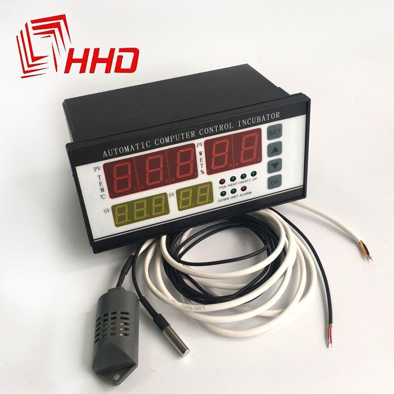 220 v XM-18 controlador máquina incubadora digital temperatura e umidade automática controlador de incubadora para ovo broker acessórios