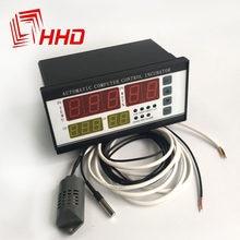 220v XM-18 controlador máquina incubadora digital temperatura e umidade automática controlador de incubadora para ovo broker acessórios