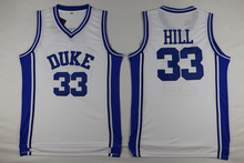 37a231b7a24 DUEWEER Mens Duke Blue Devils Grant Hill College Basketball Jerseys  Throwback 33 Grant Hill University Stitched
