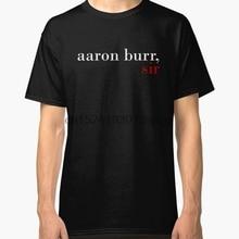 ed612edc220 Printed Men T Shirt Cotton O-Neck tshirts Aaron Burr