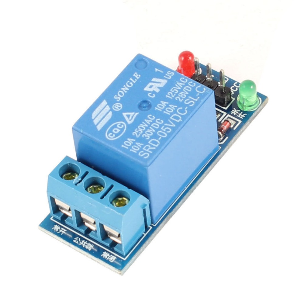 Electronic Component SRD-05VDC-SL-C Single Channel DC 5V 10A Relay Module electronic component
