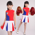 Children Cheerleaders Dress Girl School Team Uniforms Kid Graduation Kids Performance Costumes Set Girl Class Suit School Suits