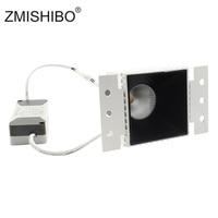 ZMISHIBO 9W COB LED Square Downlights 85 265V 75mm Cut Hole Anti glare Deep Concave Recessed Ceiling Aluminum Housing Spot Lamp