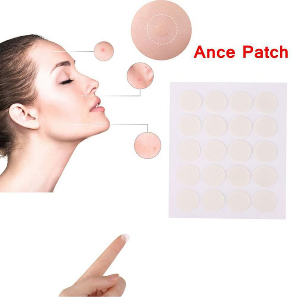 40pcs Hydrocolloid Acne Invisible Pimple Master Patch Skin Tag Removal Patch Pimple Blackhead Blemish Removers Facial Care Tool