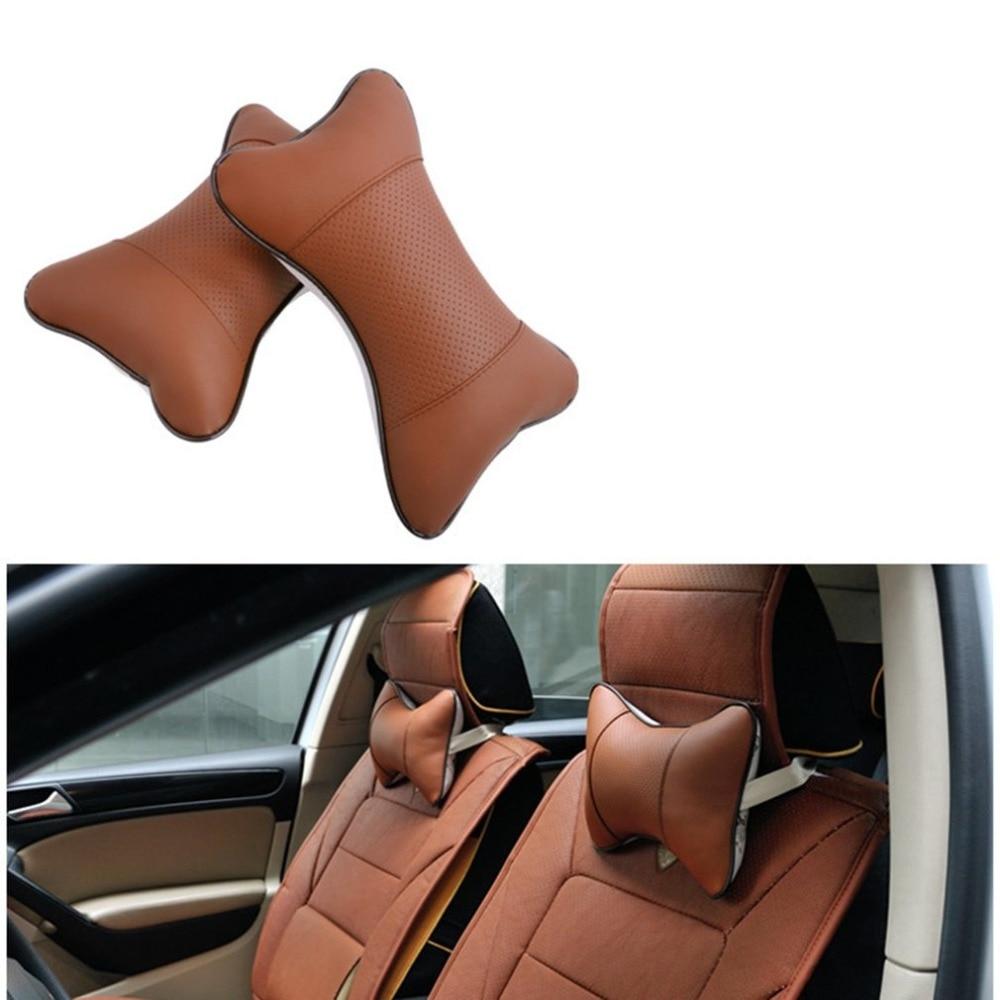 newCar Headrest Four Seasons Universal Danny Car Headrest Embroidered Bone Pillow Neck Pillow Automotive Interior Products