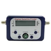 Top Deals Digital LCD Satellite Finder Sat Finder Signal Strength Meter Sky Dish Freesat Blue