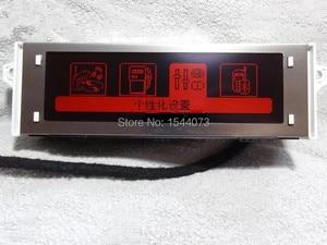 Image 3 - Original Part Red Screen Pupport USB Bluetooth 4 menu Display Red monitor 12 pin for Peugeot 307 407 408 citroen C4 C5