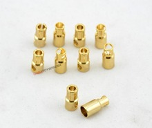 5X 6.0mm 6mm Gold Plated Bullet Connectors Male Female plug for rc battery