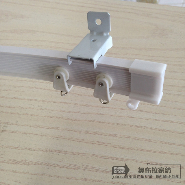 Aliexpress.com : Buy All kinds of curtain track curtain rod bent ...