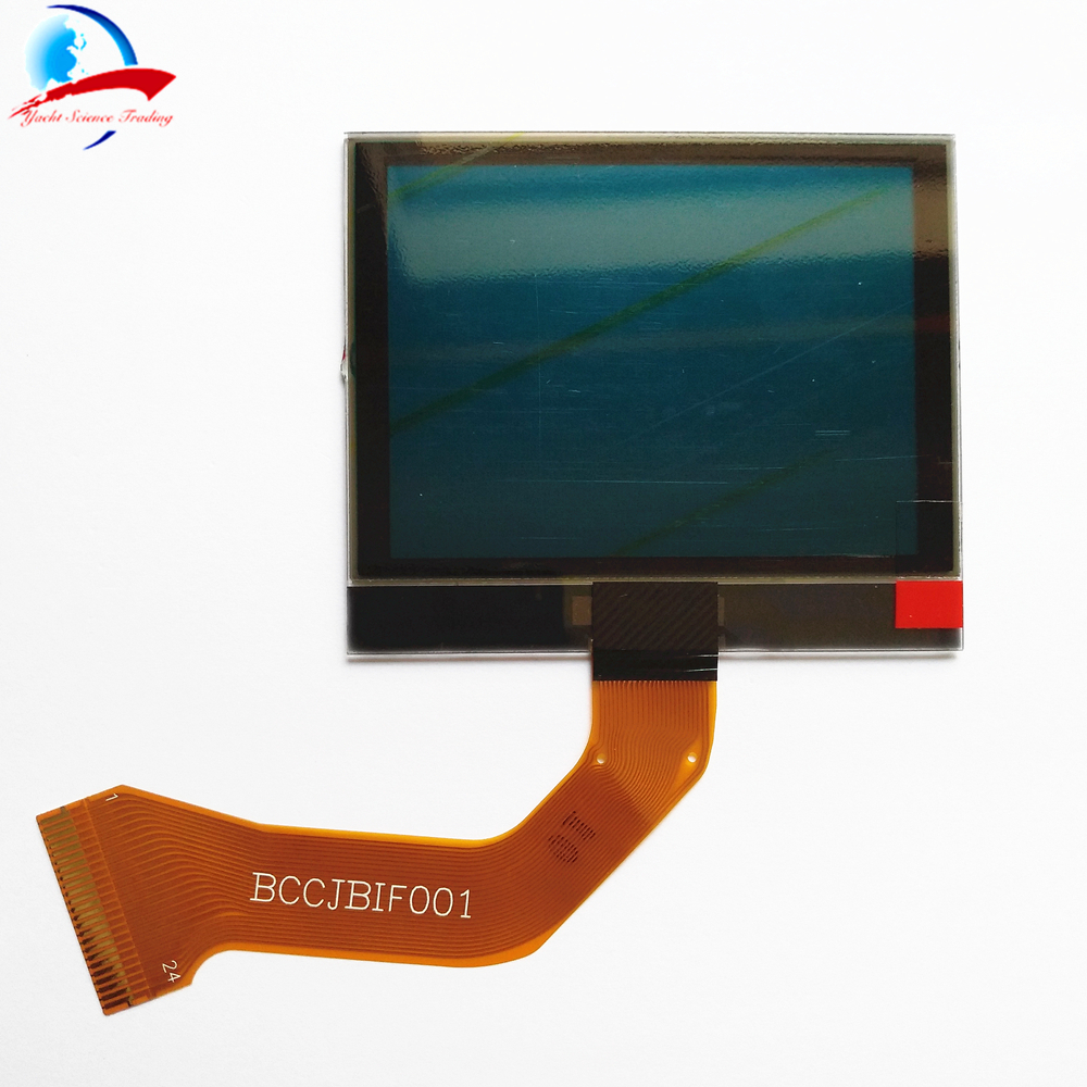Car Instrument Cluster LCD DISPLAY with FPC USA model yellow background For US Cayenne 2003 2009