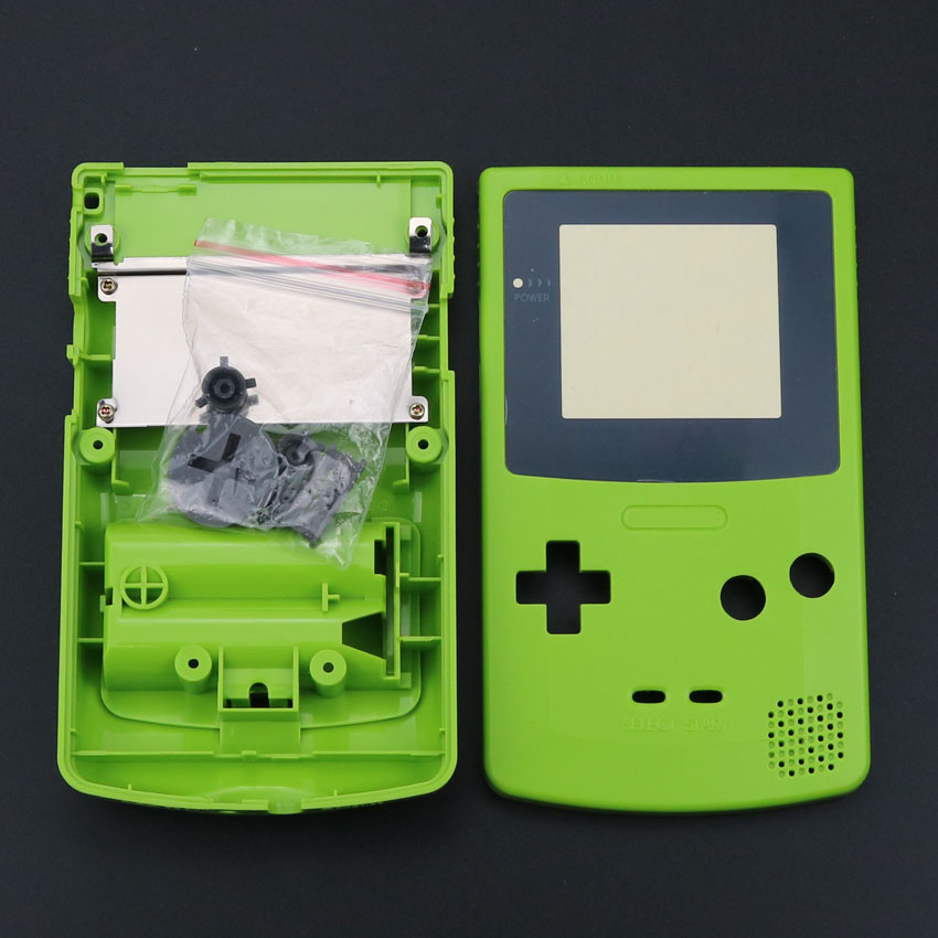 Image 3 - ChengHaoRan 1 set New Full Housing Shell Cover Case for Nintendo Game boy Color GBC Replacement Repair Parts Pack kit-in Cases from Consumer Electronics