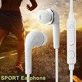 Fio do fone de ouvido fone de ouvido fone de ouvido de 3.5mm de música portátil fones de ouvido com microfone para mp4 iphone samsung xiaomi huawei mobile phone