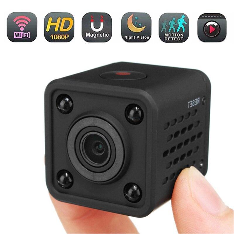 120 Degree Wide-Angle Security Camera HD 1080p Mini Camcorder WiFi Micro Camera Night Vision Camera Wireless Camera(China)