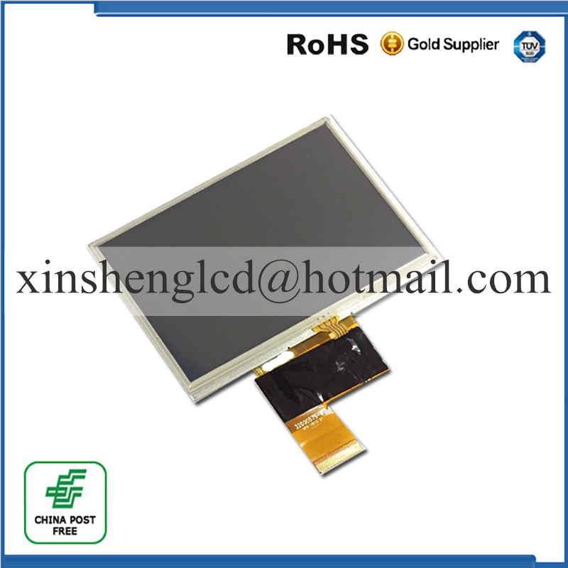 Original and New LCD screen with touch screen FPC-G5000740-01 FPC-G5000740 G5000740 for GPS free shipping tq7037cust fpc lcd displays screen