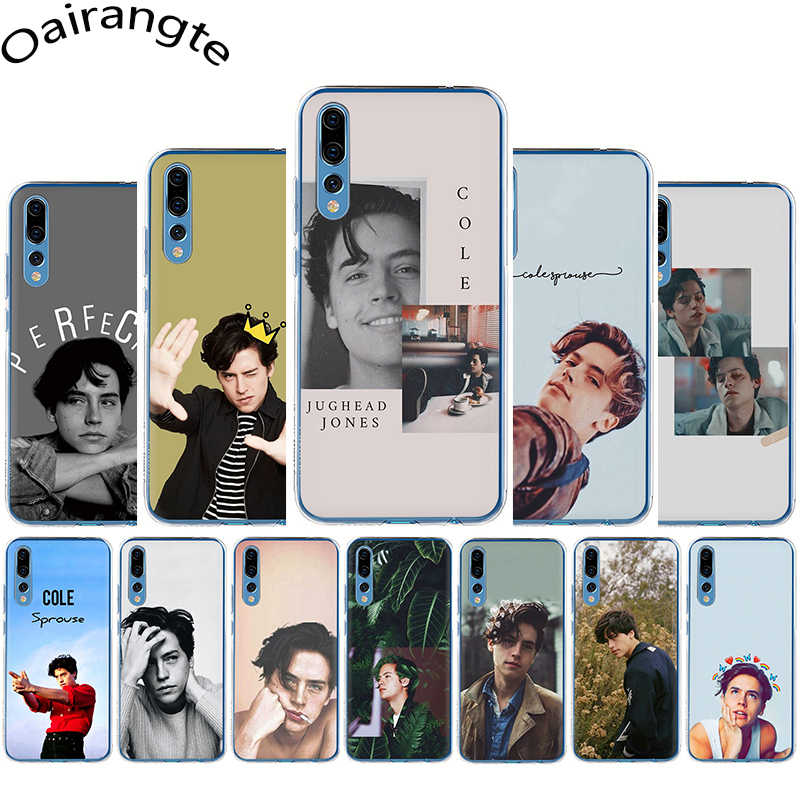 riverdale cole sprouse Jughead Jones Hard Phone Case for Huawei Honor 6A 6C 7A Pro 7C 7X 8C 8X 8 9 10 Lite Play view 20 9X Pro