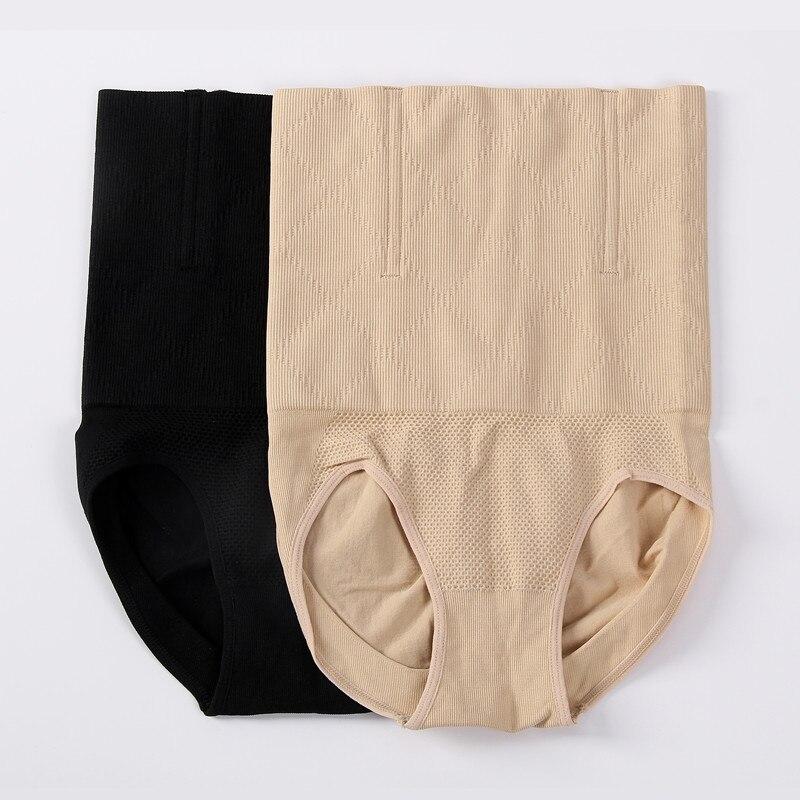 Alta cintura femenina conformación Bragas mujeres Cuerpo Shaper adelgazamiento tummy control Ropa interior vaina corsé entrenador Bragas shaperwear
