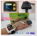 finger pulse SPO2 oximeter on wrist,blood oxygen oximetro de dedo, blue portable fingertrip hand saturation oximetro, home care