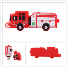 USB stick real capacity pen drive Fire truck usb flash 4GB 8GB 16GB 32GB 64GB memory stik u disk creative gift pendrive